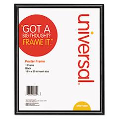 Glossy Black Poster Frame, 16 x 20