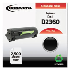 D2360 Compatible Reman 3319803 (B2360) Toner, 2500 Page-Yield, Black