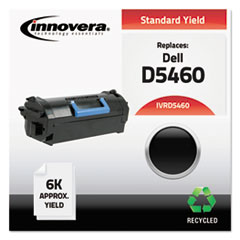 D5460 Compatible Reman 3319797 (B-5460) Toner, 6000 Page-Yield, Black