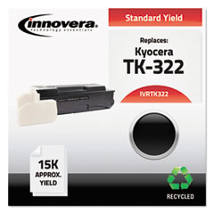 Remanufactured TK-322 Toner, Black