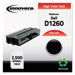 D1260 Compatible Reman 331-7328 (B-1260) Toner, 2500 Page-Yield, Black