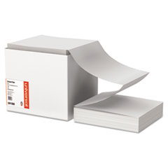 Computer Paper, 15lb, 9-1/2 x 11, Letter Trim Perforations, White, 3300 Sheets