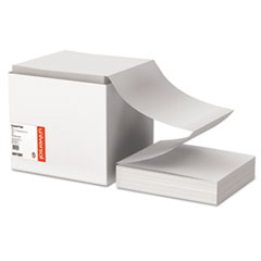 Computer Paper, 18lb, 9-1/2 x 11, Letter Trim Perforations, White, 2700 Sheets