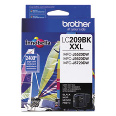 LC209BK Innobella Super High-Yield Ink, Black