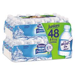 Pure Life Purified Water, 8 oz Bottle, 48/Carton