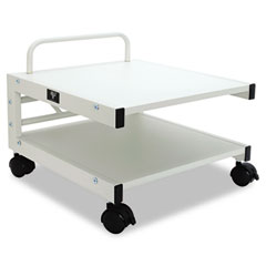 Low Profile Mobile Printer Stand, 17w x 17d x 14h, Gray BLT27501