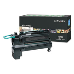 X792X4KG (X792) Extra High-Yield Toner, 20000 Page-Yield, Black