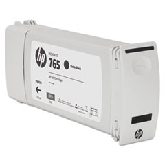 HP 765, (F9J55A) Matte Black Original Ink Cartridge