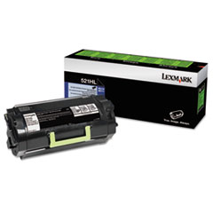52D1H0L (521HL) High-Yield Toner, 25000 Page-Yield, Black