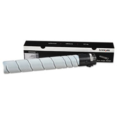 54G0H00 High-Yield Toner, 32500 Page-Yield, Black
