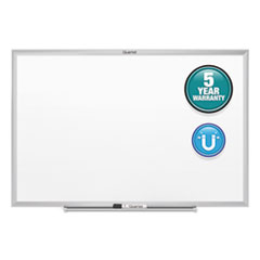 Classic Magnetic Whiteboard, 24 x 18, Silver Frame