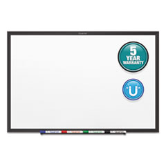 Classic Series Magnetic Whiteboard, 60 x 36, Black Aluminum Frame
