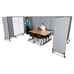 GreatDivide Wall System Fabric Add-On Panel, 64w x 3d x 72h, Gray BLT74769