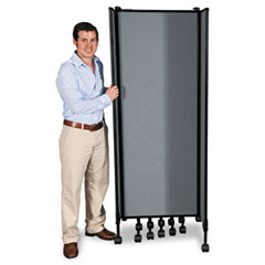 GreatDivide Wall System Fabric Starter Set, 97w x 3d x 96h, Gray BLT74770