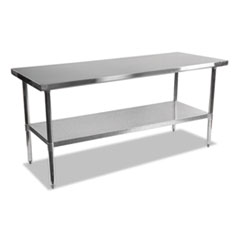 Stainless Steel Table, 72 x 30 x 35, Silver
