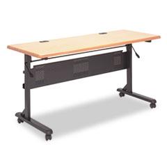 Flipper Training Table Base, Flipping L-Leg, 60w x 24d x 29-1/2h, Black BLT89781