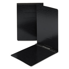 End Opening PressGuard Report Cover, Prong Fastener, Legal, Black
