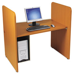 COU ** H Carrel, Laminate, 43w x 27-3/4d x 42h, Natural Cherry at Sears.com