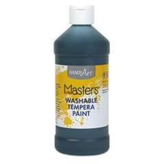 Washable Paint, Black, 16 oz LIM211755