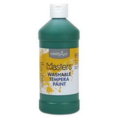 Washable Paint, Green, 16 oz LIM211745