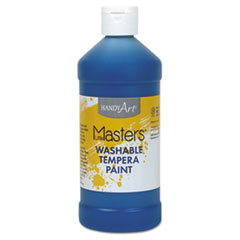 Washable Paint, Blue, 16 oz LIM211730