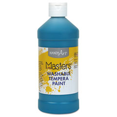 Washable Paint, Turquoise, 16 oz LIM211735