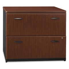 Series A Collection 2 Drawer 36W Lateral File (Assembled), Hansen Cherry