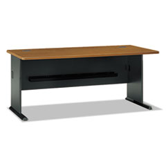 Series A Collection 72W Desk, Natural Cherry BSHWC57472