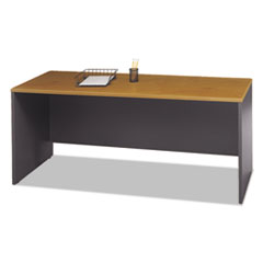 Series C Collection 72W Credenza Shell, Natural Cherry BSHWC72426