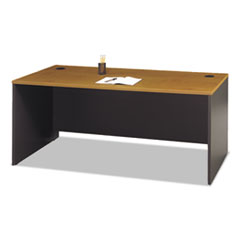 Series C Collection 72W Desk Shell, Natural Cherry BSHWC72436