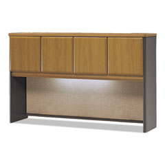 Series A Collection 60W Hutch, Natural Cherry