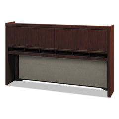 Enterprise Collection 72W Tall Hutch, Harvest Cherry (Box 1 of 2)