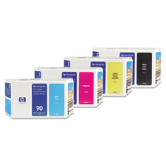 HP 90, (C5058A) Black Original Ink Cartridge