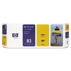 HP 83 (C4943A) UV Yellow Original Ink Cartridge