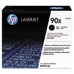 HP 90X, (CE390X) High Yield Black Original LaserJet Toner Cartridge