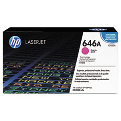 HP 646A, (CF033A) Magenta Original LaserJet Toner Cartridge