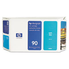 HP 90, (C5060A) Cyan Original Ink Cartridge