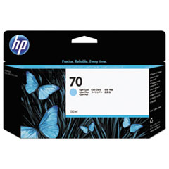 HP 70, (C9390A) Light Cyan Original Ink Cartridge