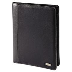 Bi-Fold Padfolio, 8 1/2 x 11, Black