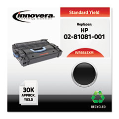 Remanufactured C8543X (43X) High-Yield Toner, Black