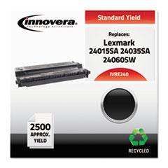 Remanufactured 24015SA (E240) Toner, Black