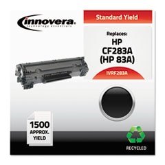 F283A Compatible Reman CF283A (83A) Toner, 1500 Page-Yield, Black