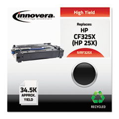 F325X Compatible Reman CF325X (25X) High-Yield Toner, 34500 Page-Yield, Black