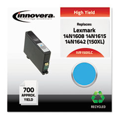 Remanufactured 14N1608 (150XL) High-Yield Ink, Cyan