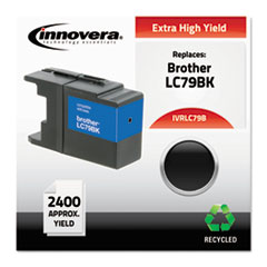 Remanufactured LC79BK Extra High-Yield Ink, Black