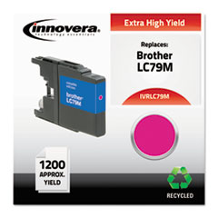 Remanufactured LC79M Extra High-Yield Ink, Magenta