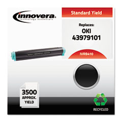 Remanufactured 43979101 (B410) Toner, Black