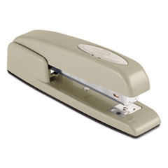 747 Business Full Strip Desk Stapler, 25-Sheet Capacity, Steel Gray