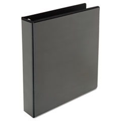 "Comfort Grip Deluxe Plus D-Ring View Binder, 1-1/2"" Capacity, 8-1/2 x 11, Black"