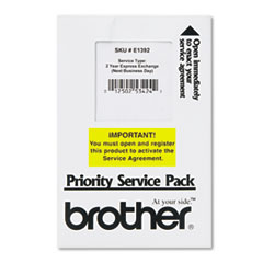 Brother Warranty Extensions (E1392)